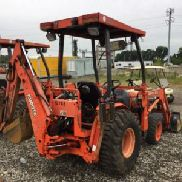 2005 Kubota B21 4x4 Mini Tractor Loader Backhoe (124461)