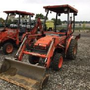 2005 Kubota B21 4x4 Mini Tractor Loader Backhoe (124462)