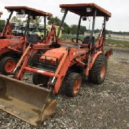 2005 Kubota B21 4x4 Mini Tractor Loader Backhoe (124463)