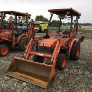 2005 Kubota B21 4x4 Mini Tractor Loader Backhoe (124464)