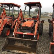 2005 Kubota B21 4x4 Mini Tractor Loader Backhoe (124465)