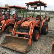 2005 Kubota B21 4x4 Mini Tractor Loader Backhoe (124467)