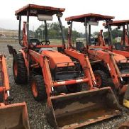 2005 Kubota B21 4x4 Mini Tractor Loader Backhoe (124468)