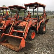 2006 Kubota B21 4x4 Mini Tractor Loader Backhoe (124469)