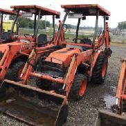 2006 Kubota B21 4x4 Mini Tractor Loader Backhoe (124470)