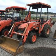 2005 Kubota B21 4x4 Mini Tractor Loader Backhoe (124955)
