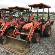 2005 Kubota B21 4x4 Mini Tractor Loader Backhoe (124956)