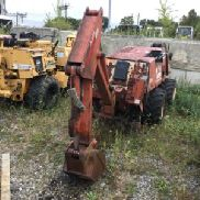 1995 Ditch Witch 410SX caucho cansado Walk-Beside cable vibratorio arado (124957)