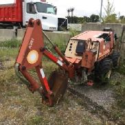 1996 Ditch Witch 410SX caucho cansado Walk-Beside cable vibratorio arado (124958)