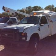 2009 Ford F350 4x4 Enclosed Service Truck (126731)