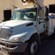 Altec Articulating & Telescopic Bucket Truck mounted behind cab on 2011 International 4300 DuraStar Utility Truck (127237)