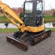 2005 Komatsu PC35MR-2 Mini Hydraulic Excavator (130526)
