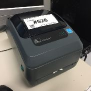 1 label printer Zebra GK420T