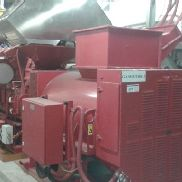complete wood gas combustion engine Jenbacher gas Engins GE with directly flanged Generator