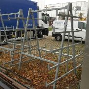 1 pc. Free-standing double-sided cantilever rack