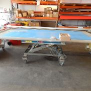 mobile scissor lifting table Bolzoni A105E02 with built-up cutting tool