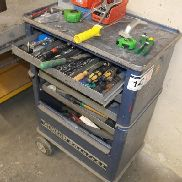 wheeled tool cart Gedore aide