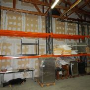 Pallet-heavy load rack Allclick SP80 with content inside
