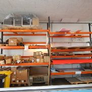 Pallet heavy load rack Allclick SP800 with residual content