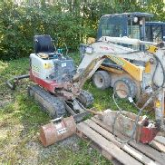 Mini excavators Takeuchi TB 108