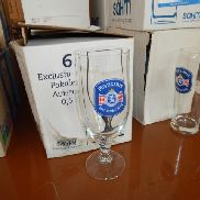 18 pcs Beer glasses Puntigamer 0,5 l