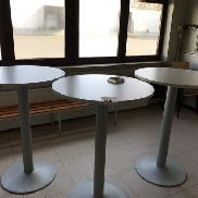 3 bar tables
