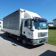 Camion (N2) - MAN TGL 12.240 4x2 BL Ladebordwand
