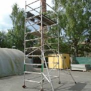 Professional aluminum scaffolding EURO TOWERS tower height 5.8 m