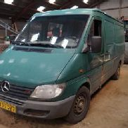 Panel van. Mercedes Sprinter with 5 seats behind. Former registration number VN97577. Auction 484 # 0111