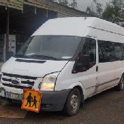 Ford transit handicap bus, with airbags shock absorbers. Auction 514 # 0015