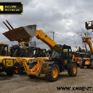JCB 535-125 Charger telescopes