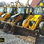 JCB 4CX Baggerlader EQUAL WHEELS