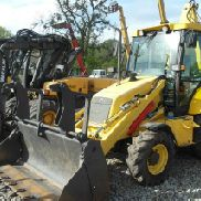 NEW HOLLAND LB110 Baggerlader CAT JCB