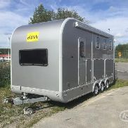 Ifor Williams Eventa Gold L Tri-Axle Hästtransport med bodel -15