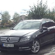 Mercedes C 220 CDI Kombi BlueEfficiency Avantgarde (Aut, 170hk) -12