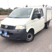 VW Transporter T5 2.5 TDI Pickup 4-motion (4WD, Verkst.inr, 130hk) -09