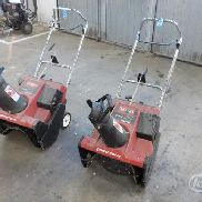CCR2000 Toro snow blowers 2 pc