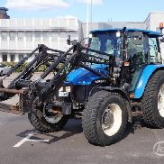 New Holland TL90 Tractor with loader - 00