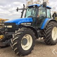 New Holland TM150 Tracor with front lift & front PTO - 01