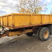 1pc Tipping trailer (12-ton) single axle