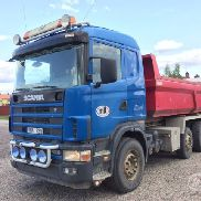 Scania R124GB NA 8x2 / 4 Kipper - 04