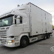 Scania R560LB MLB 6x2 Box (Seitentüren) - 14