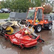 Holder C2.42 Utility vehicle with snowplow, spreader and a mower deck - 05