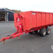 Bigab 7-10 Swap body trailer with a light material container - 08