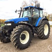 New Holland TM155 Tractor with front lift - 03