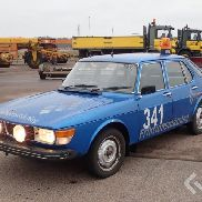 Saab 99 GLS with friction tester unit, for airports etc.