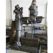 "Archdale 48"" elevating column radial arm drilling machine, serial number not known, with approx."