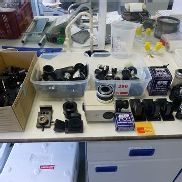 Quantity of microscope/camera/lens spares