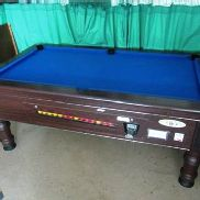 Supreme Pool coin-operated pool table - Method Statement and Risk Assessment must be reviewed and