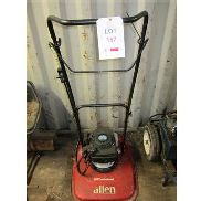 Allen 450 Professional petrol hover mower with Honda GCV160 5.5 engine